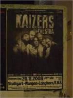20.11.2008 – Photos Kaizers Orchestra (LKA, Stuttgart)