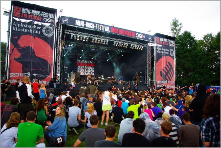 05-06.08.2011 – Photos Mini-Rock-Festival (Horb am Neckar)