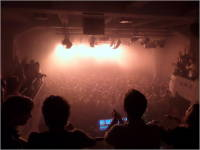 This is actually under the Karpe Diem concert; but it probably looked similar from the gallery during Skambankt's show (at least at the end).
